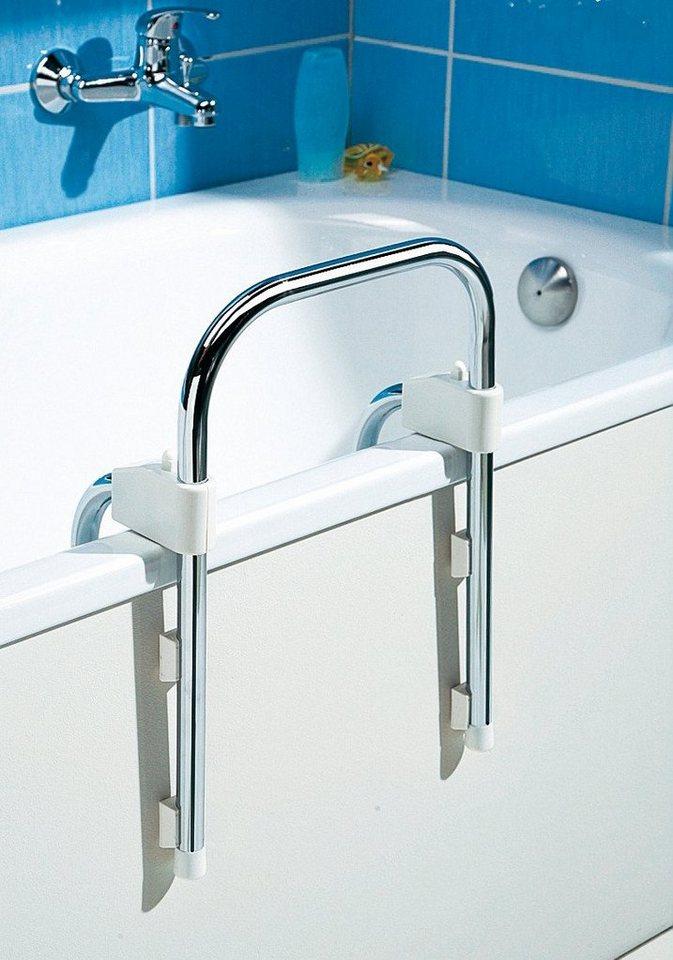 Handgriff »für Badewanne« in silberfarben