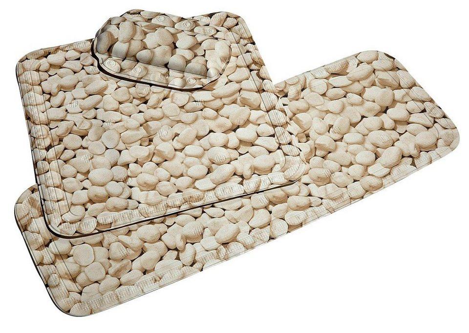 Nackenpolster »Stone« in natur