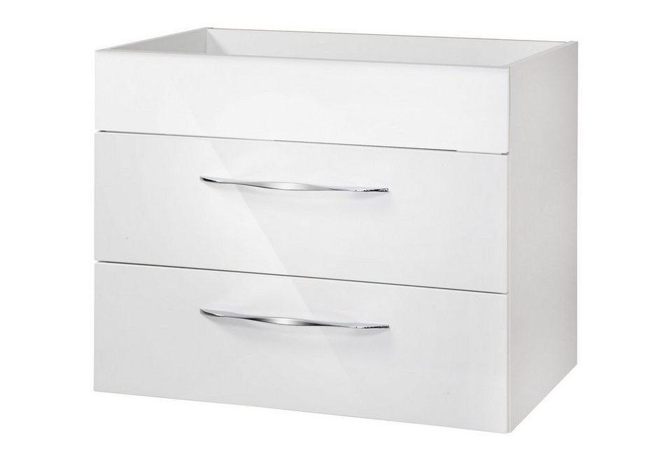 Fackelmann Waschtisch »Sceno«, Breite 80 cm, (2-tlg.) in weiß