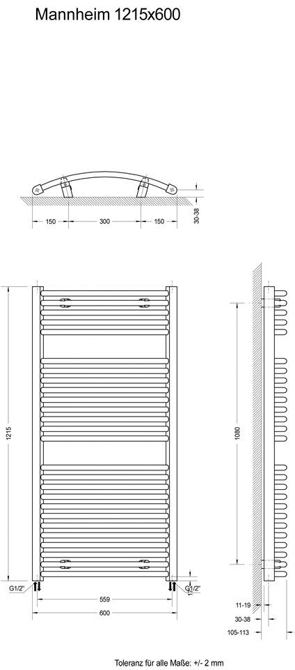 SCHULTE Designheizkörper »Mannheim« - Preisvergleich