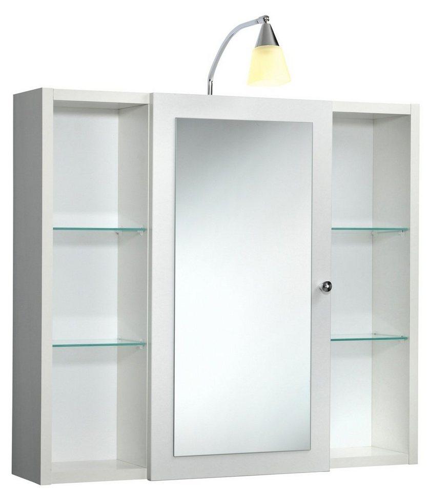 spiegelschrank latina breite 72 cm mit beleuchtung. Black Bedroom Furniture Sets. Home Design Ideas