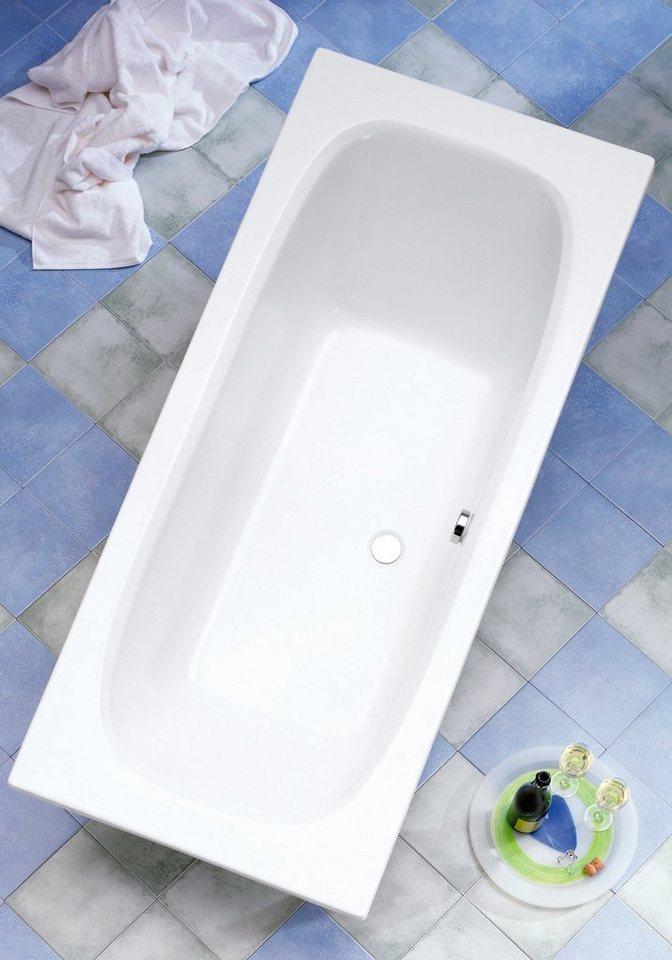 OTTOFOND Rechteckduschwanne »Malta, Whirlpoolsystem Premium«, Breite/Tiefe in cm: 170-180/75-80