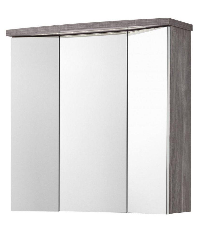 schildmeyer spiegelschrank calla breite 70 cm mit led. Black Bedroom Furniture Sets. Home Design Ideas
