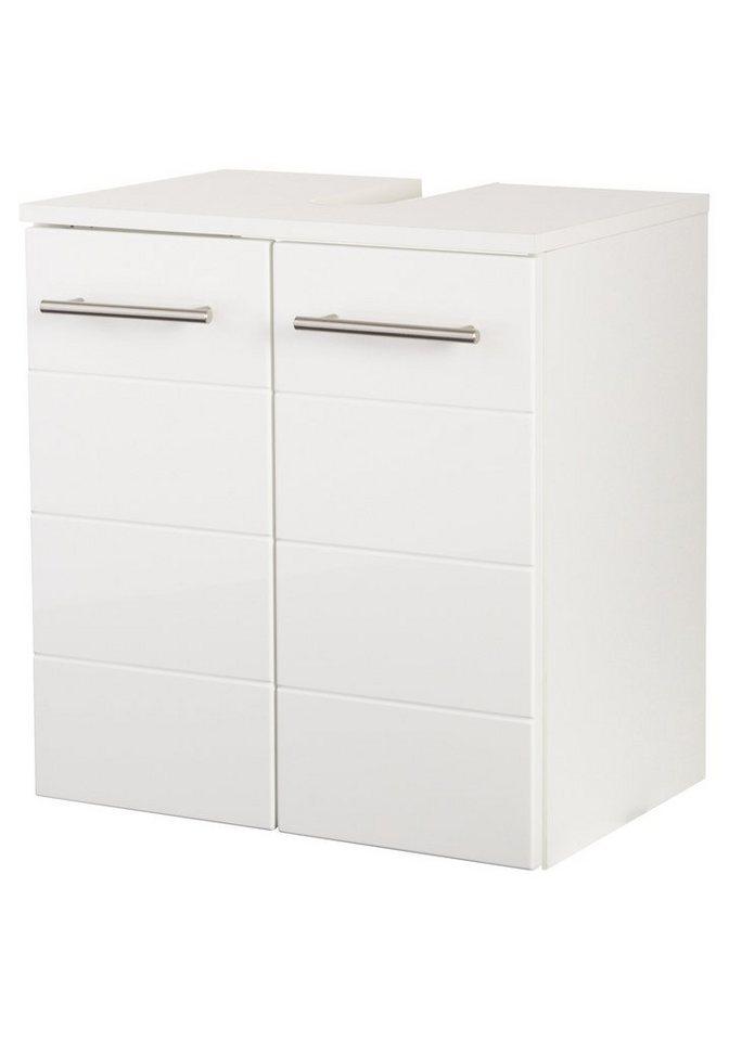 Waschbeckenunterschrank »Porto«, Breite 50 cm in weiß/weiß