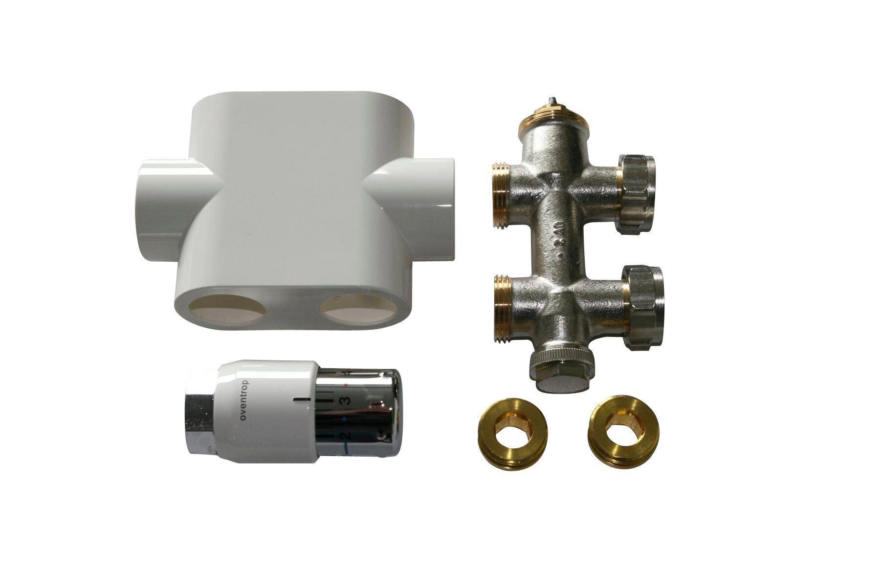 Sz Metall Badheizkörper Durchgangsanschluss »Universal«, weiß