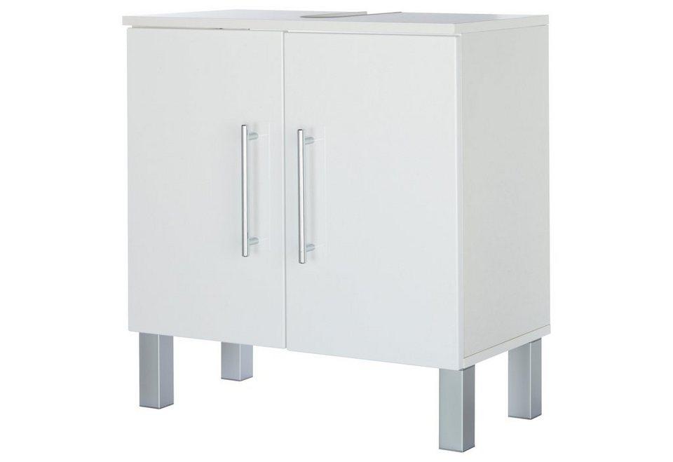 Waschbeckenunterschrank »Malmö«, Breite 60 cm in weiß/weiß
