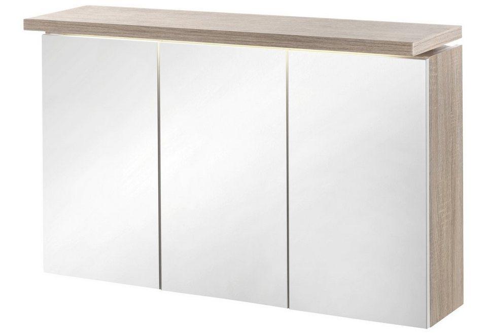 Spiegelschrank »Madeira« 100 cm in eichefarben
