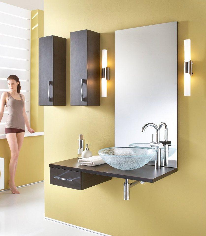 Spiegel / Badspiegel »Flores« Breite 60 cm in legno dunkel