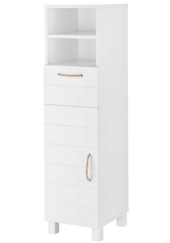 Midischrank »Mare«, Breite 30 cm in weiß/weiß