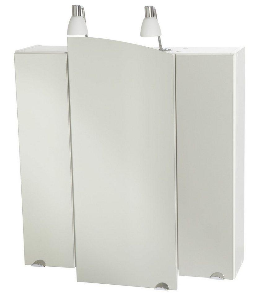 spiegelschrank bologna breite 76 cm mit beleuchtung. Black Bedroom Furniture Sets. Home Design Ideas