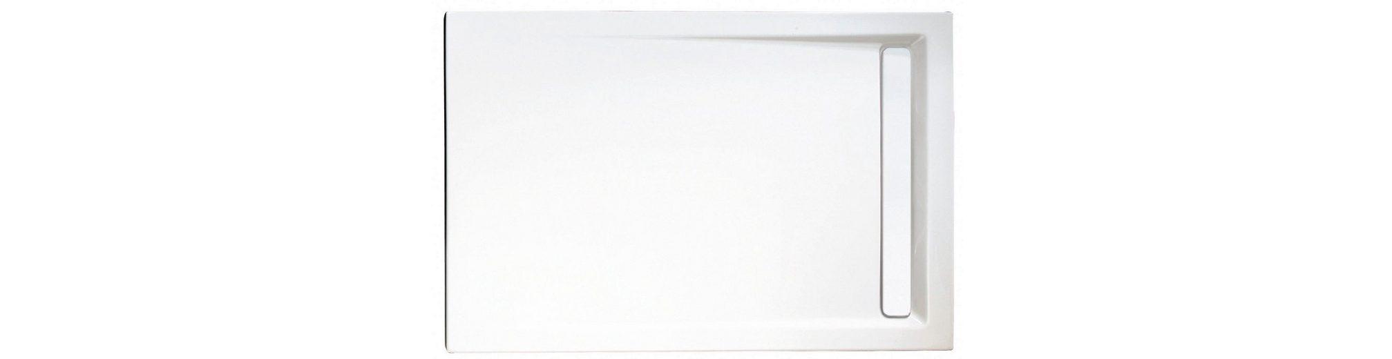 Rechteckduschwanne »mit Rinnenabdeckung«, 90/100 cm