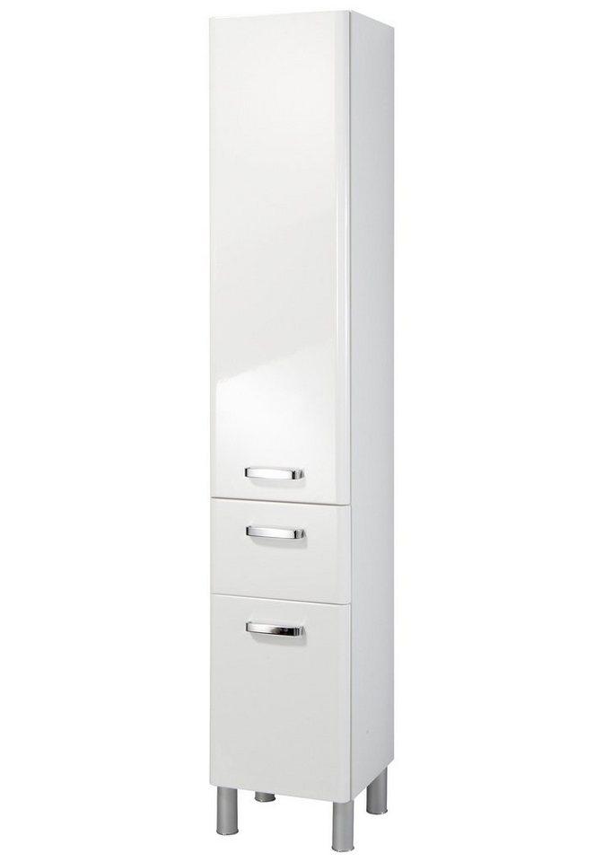 Held Möbel Hochschrank »Mailand« 35cm in weiß