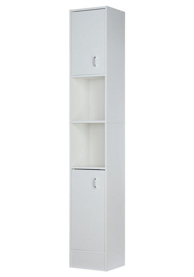 Hochschrank »Milano« in weiß