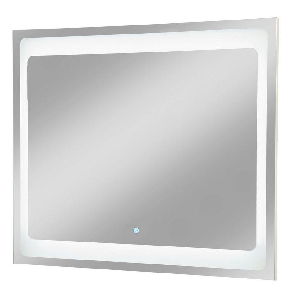Spiegelelement »Hype 2.0«, Breite 80 cm in silberfarben x silberfarben