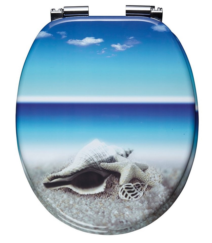 WC-Sitz »Snail«, Mit Absenkautomatik in bunt