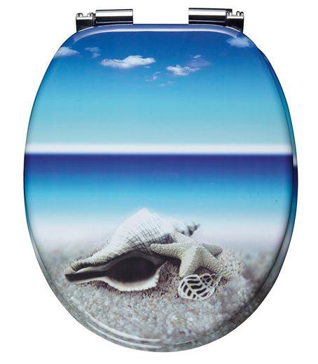 WC-Sitz »Snail«, Mit Absenkautomatik