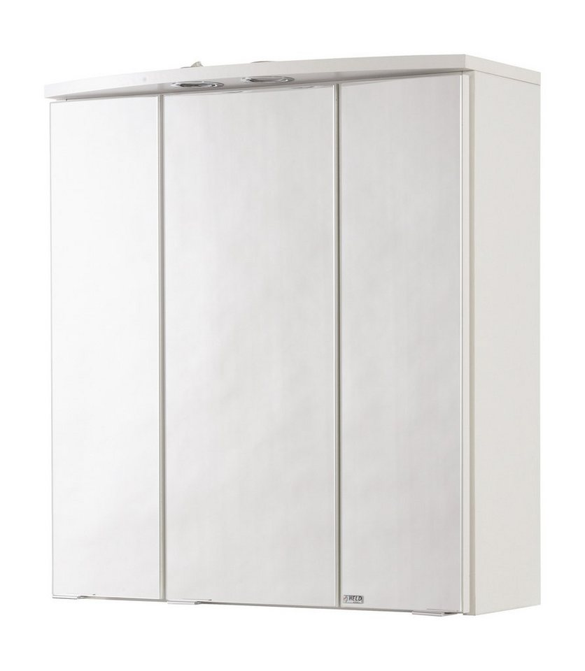Spiegelschrank »Porto 60 cm«, Breite 60 cm in weiß