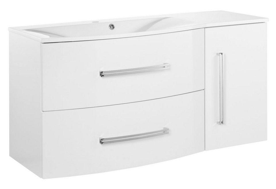 Waschtisch »Lugano«, Breite 115 cm in weiß