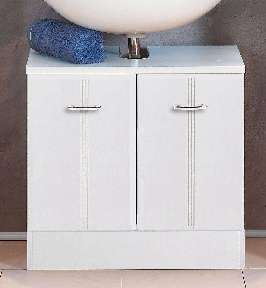 Held Möbel Waschbeckenunterschrank »Rallye«, Breite 60 cm in weiß