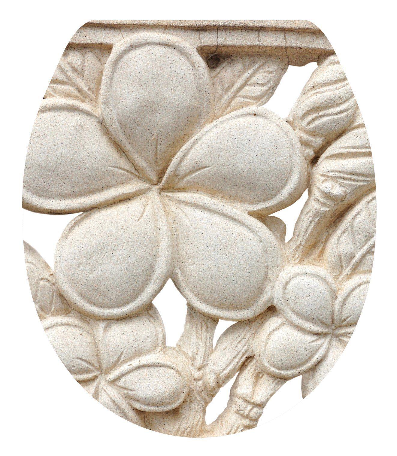 WC-Sitz »Plumeria«, Mit Absenkautomatik