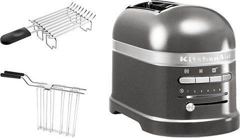 KitchenAid® Toaster Artisan »5KMT2204EMS«, für 2 Scheiben in Medallion Silber