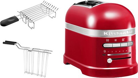KitchenAid® Toaster Artisan »5KMT2204EER«, für 2 Scheiben in Empire Rot