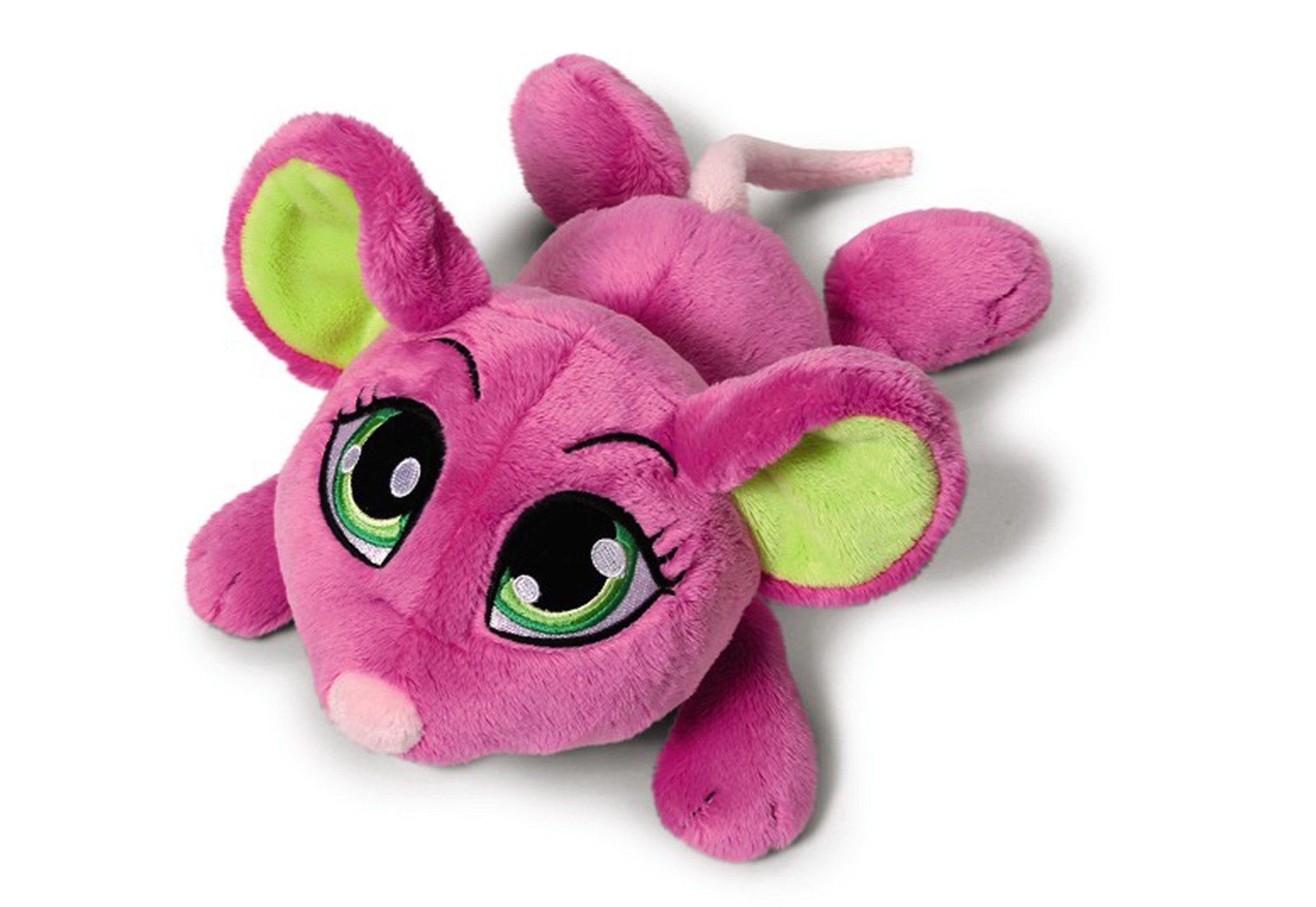 NICI Kuscheltier liegend, pink, »Sweethearts 4 - Maus«
