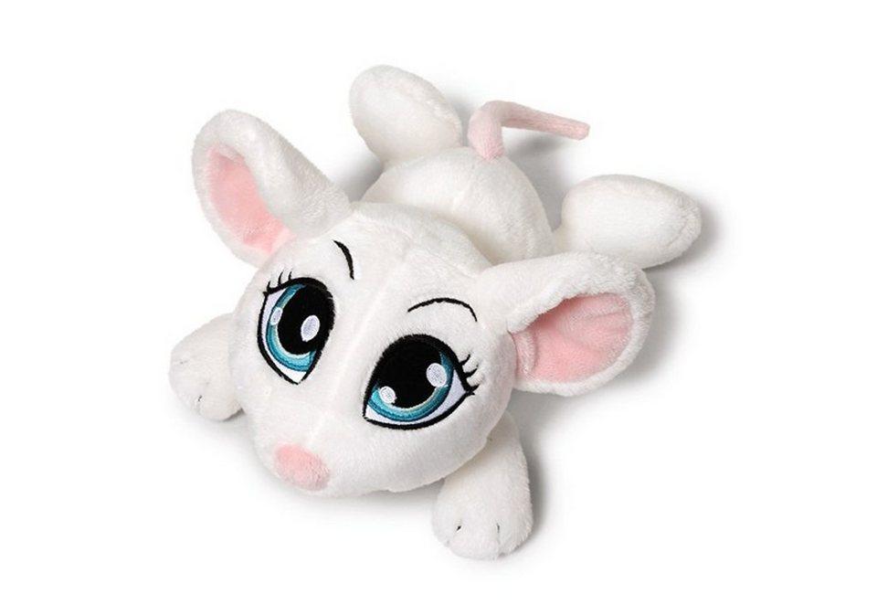 NICI Kuscheltier 35cm, weiß, »Sweethearts 4 - Maus« in weiß