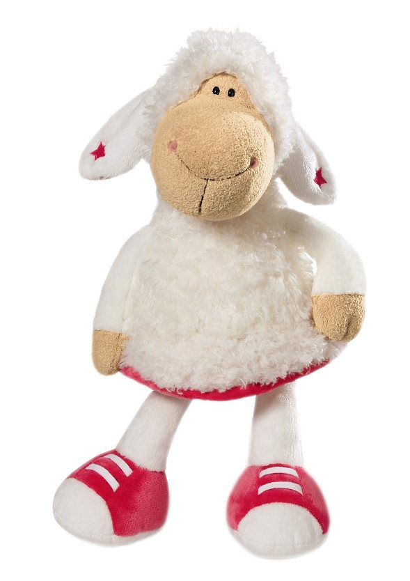 NICI Stofftier, 35 cm, »Jolly Betty - Schaf« in weiß
