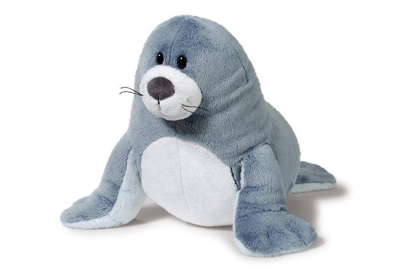 NICI Plüschtier, 35 cm, »SUNNY HOLIDAY - Seehund« in blau