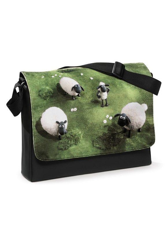 NICI Umhängetasche, »Shaun das Schaf- Schultertasche Herde«