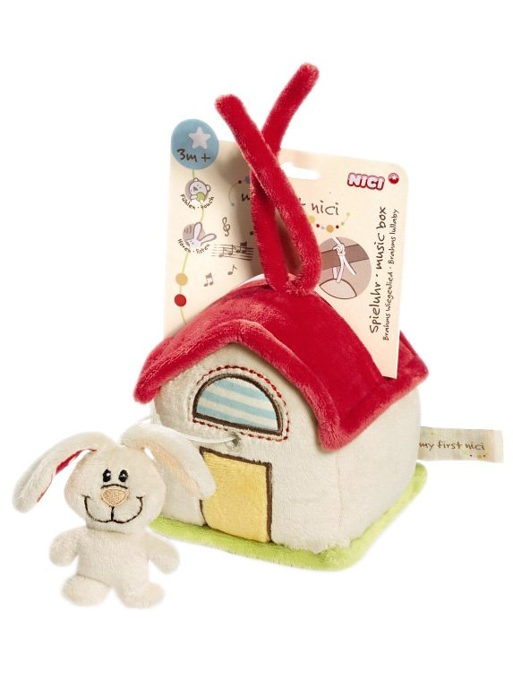 NICI Mobile, »My first Nici - Spieluhr Hase/Haus« in bunt