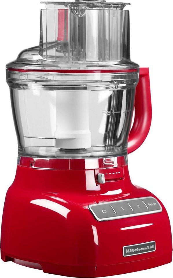 3,1 Liter KitchenAid Food Processor 5KFP1335EER, 300 Watt in rot