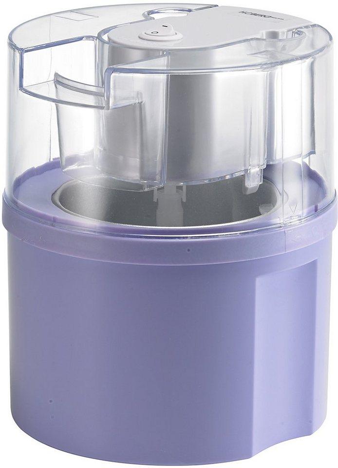 Hoberg Eismaschine Eisfixx D2000801, flieder, für 0,5 Liter Eis, 12 Watt in flieder