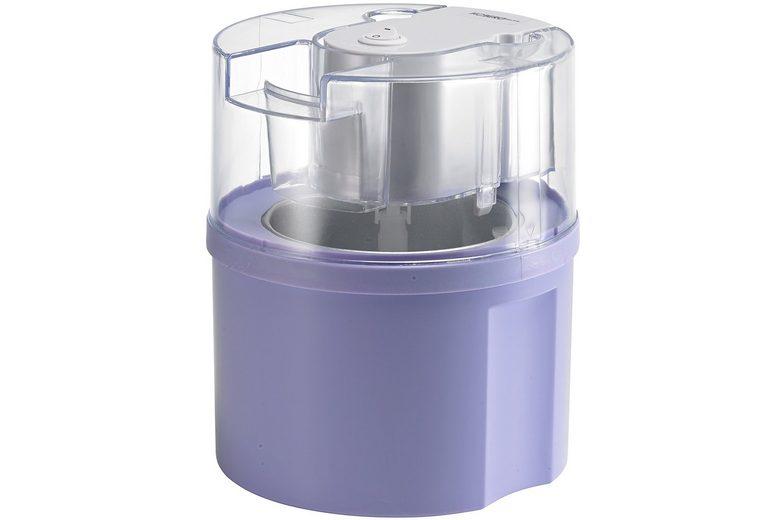 Hoberg Eismaschine Eisfixx D2000801, flieder, für 0,5 Liter Eis, 12 Watt