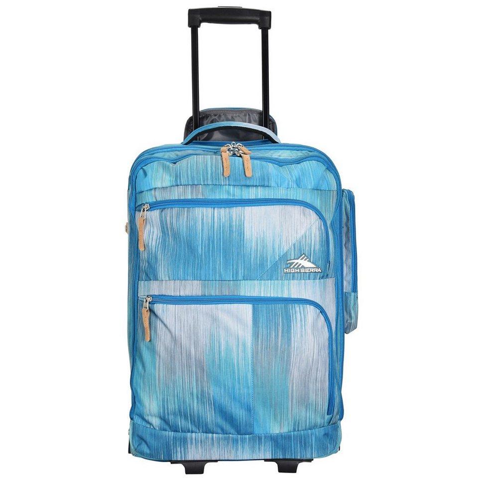 High Sierra Travel Bags Chiers Upright 2-Rollen Trolley 55 cm Laptopfach in haze