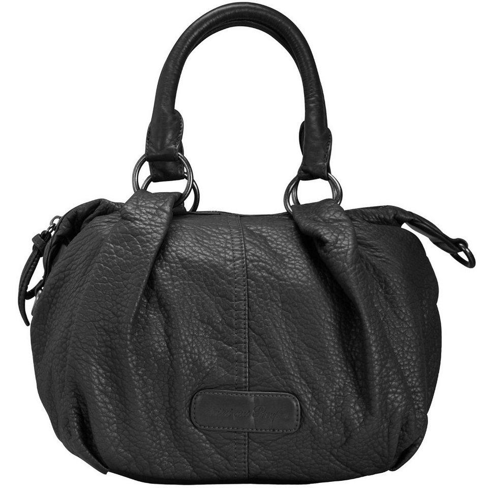 fritzi aus preu en inka washed handtasche 29 cm in black. Black Bedroom Furniture Sets. Home Design Ideas