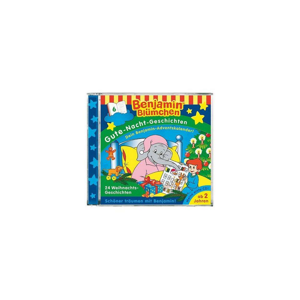 Kiddinx CD Benjamin Blümchen GNG 24 Weihnachtsgeschichten