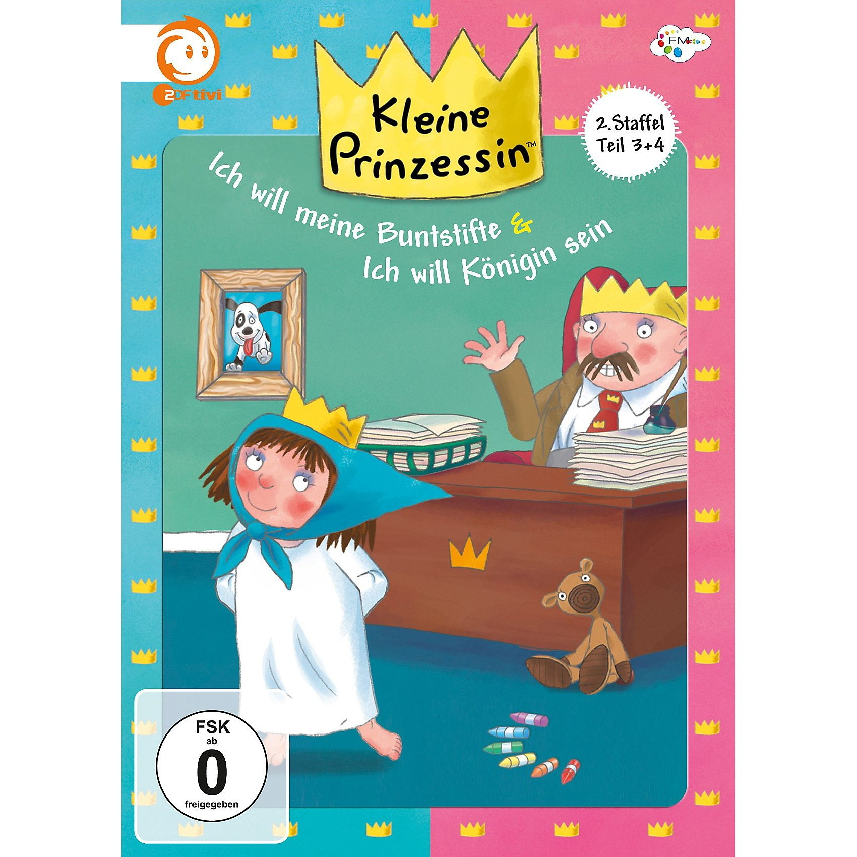 Just Bridge Entertainment DVD Kleine Prinzessin - 2. Staffel Box 2 (Teil 3 & 4)