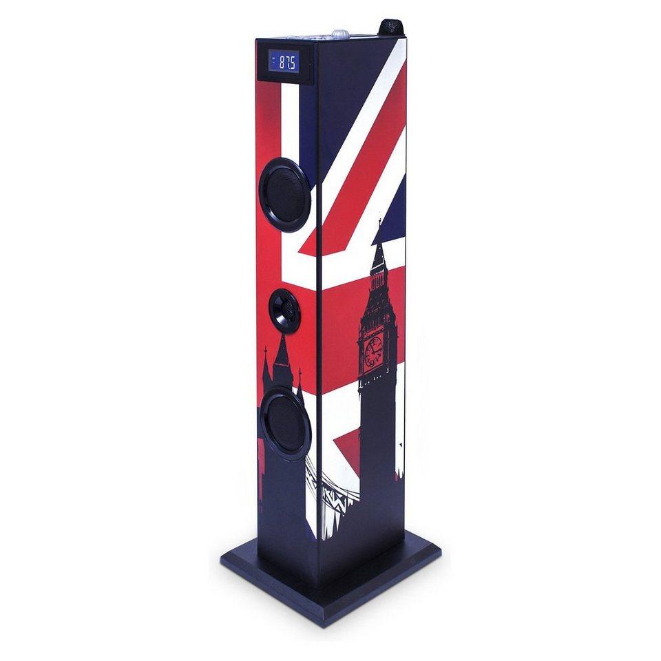 bigben Musikanlage Sound Tower TW5 Union Jack
