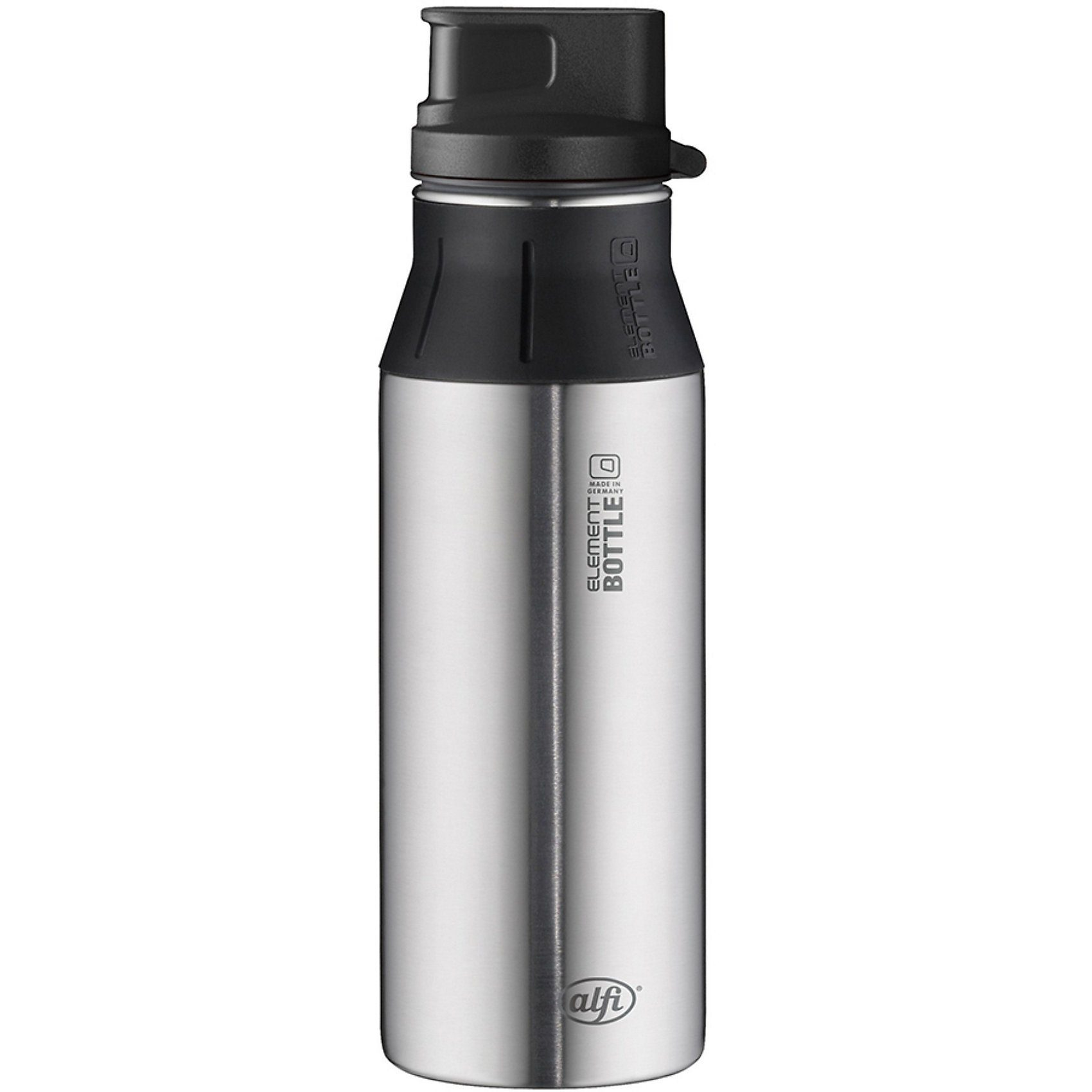 Alfi Trinkflasche elementBottle Pure Edelstahl, 600 ml