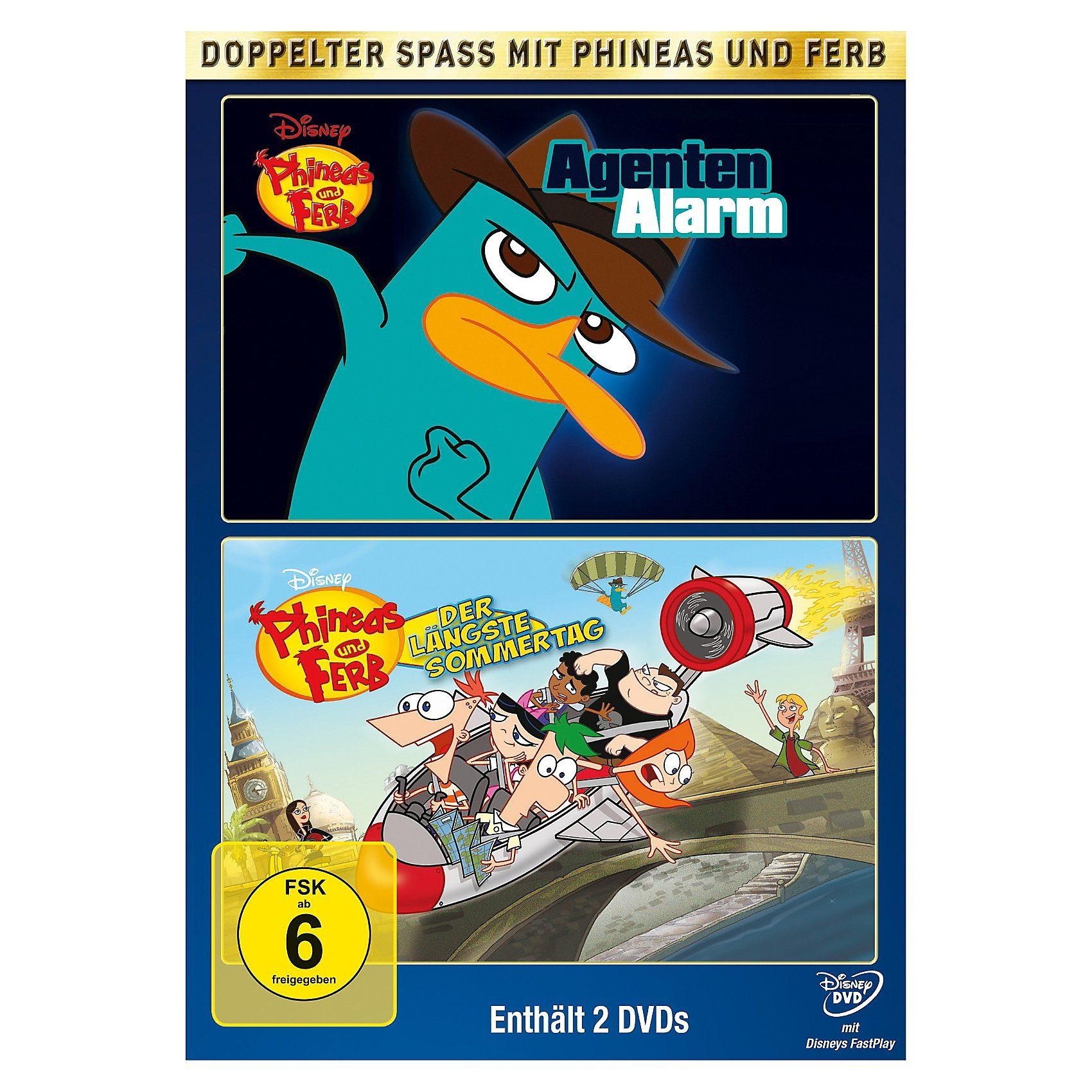 Disney DVD Phineas und Ferb Doppelpack: Agenten Alarm & Vol 3 Der