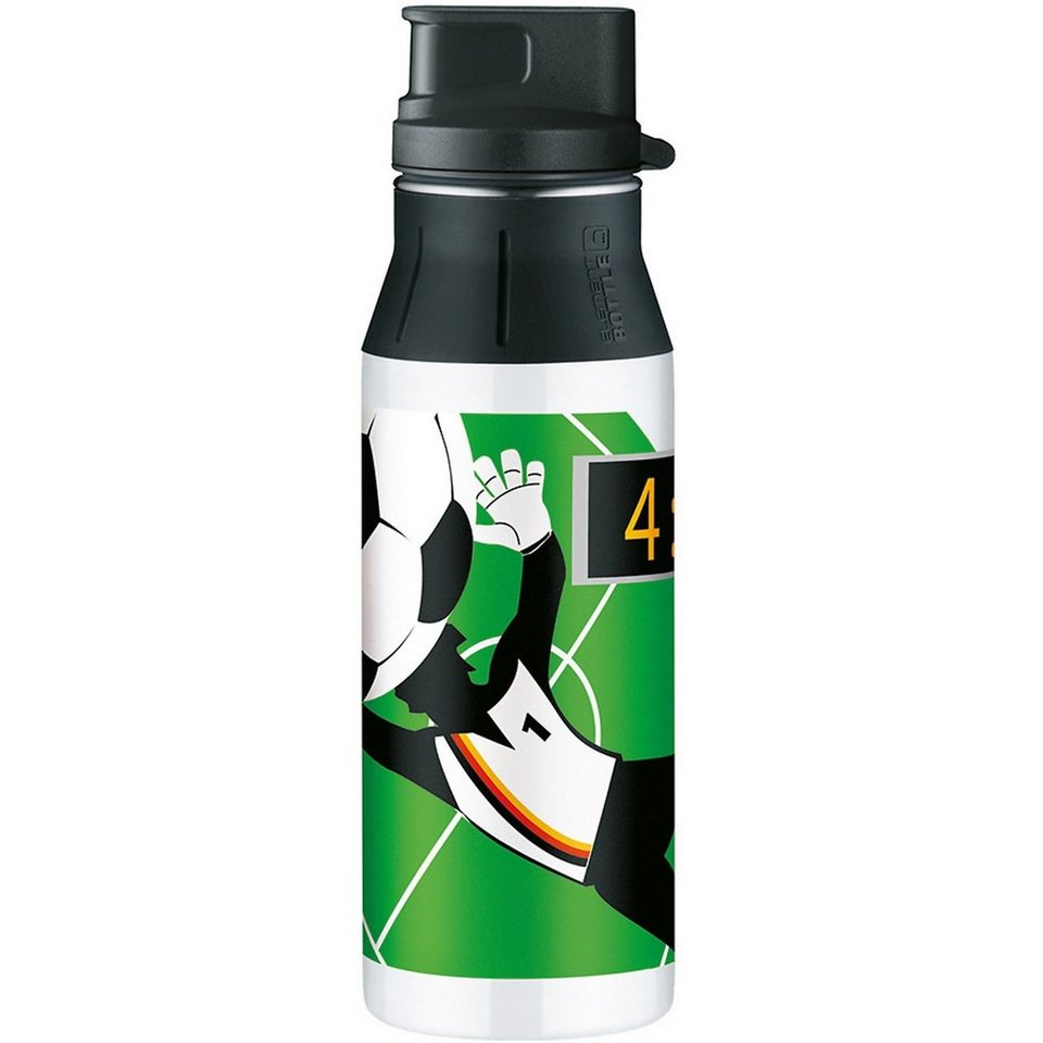 Alfi Trinkflasche elementBottle Soccer, 600 ml in grün