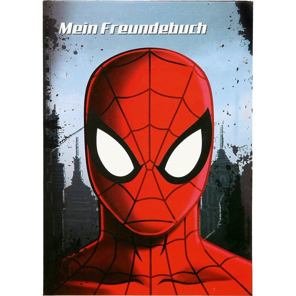 UNDERCOVER Freundebuch A5 Spider Man