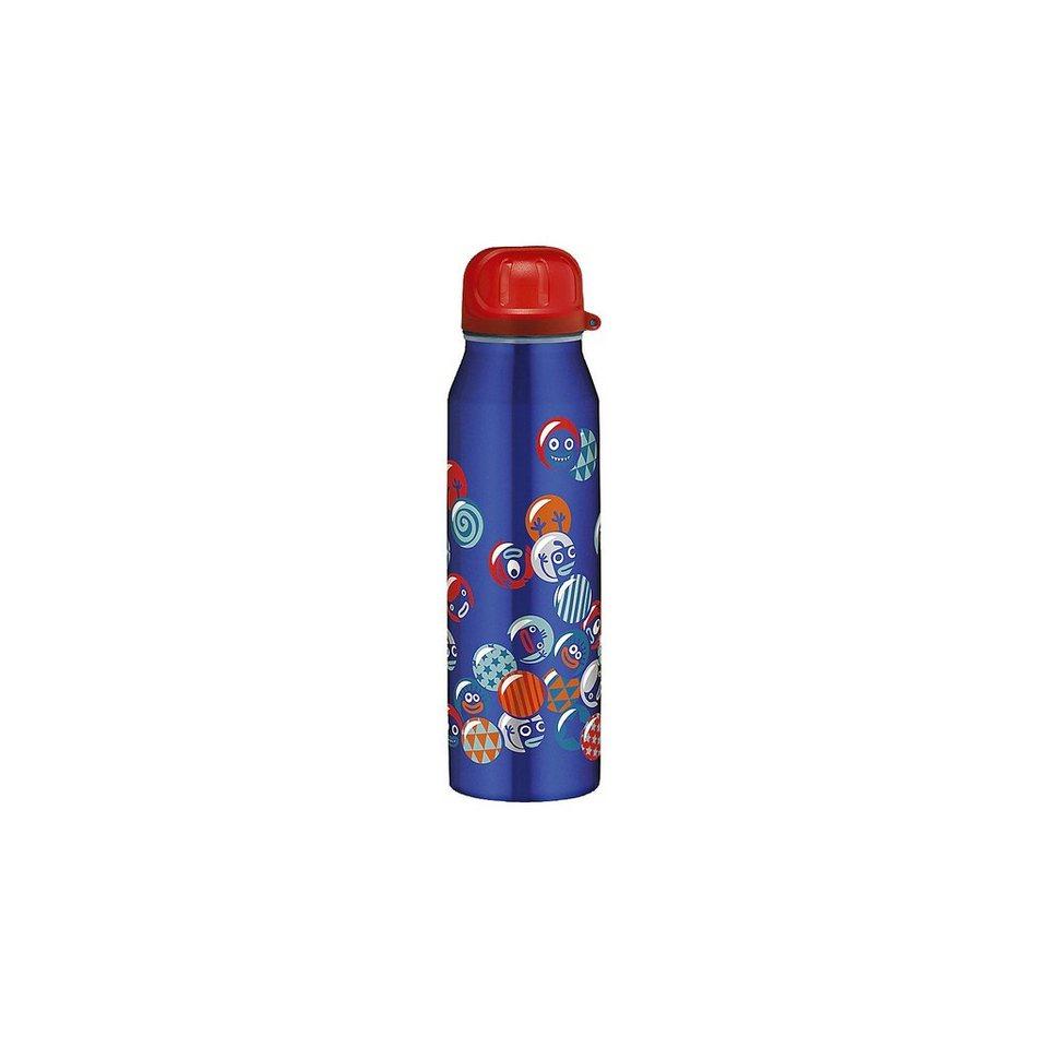 Alfi Isolier-Trinkflasche Crazy balls, 0,5 l in blau