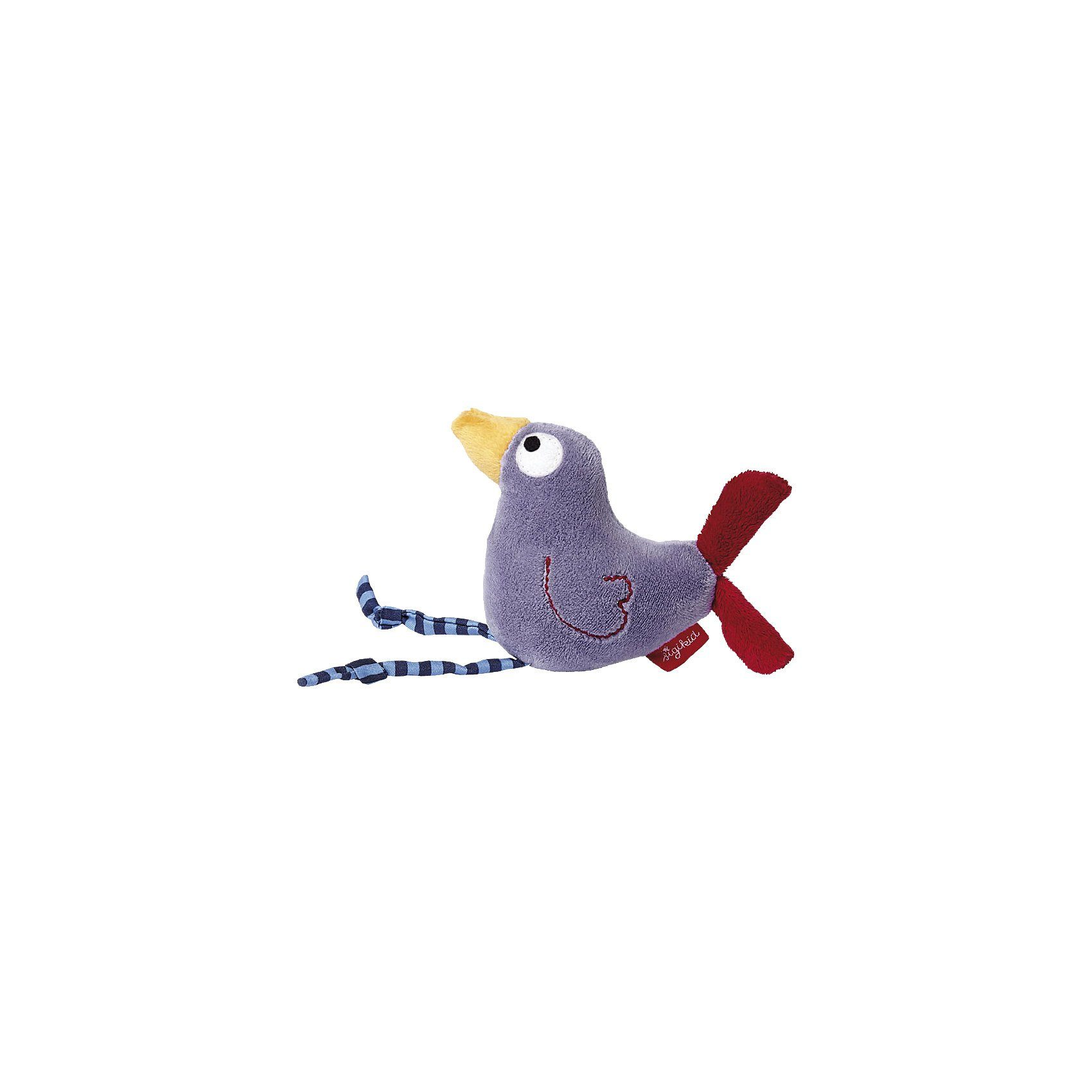 Sigikid Quietsch Quatschl lila, Greifling Vogel (41044)