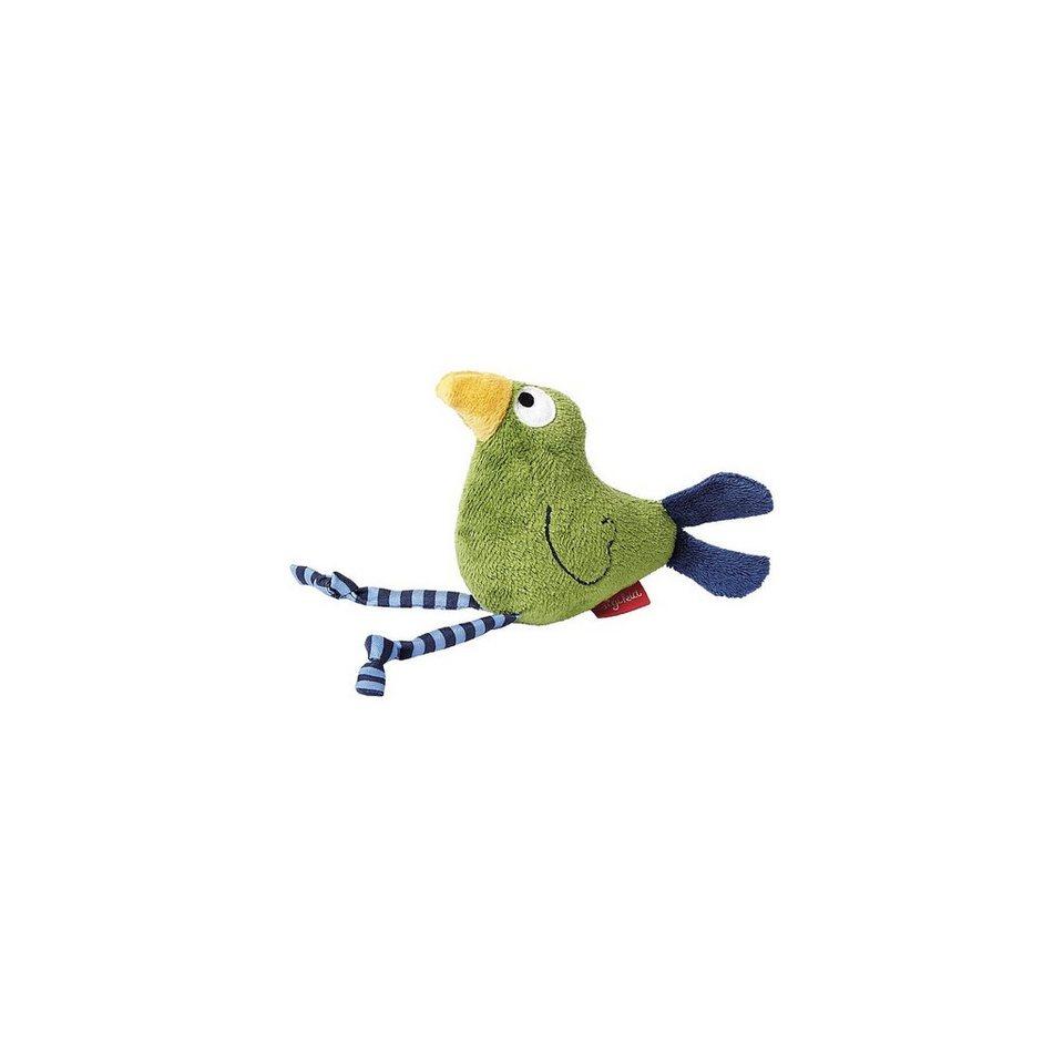sigikid 41043 Quietsch Quatsch grün, Greifling Vogel