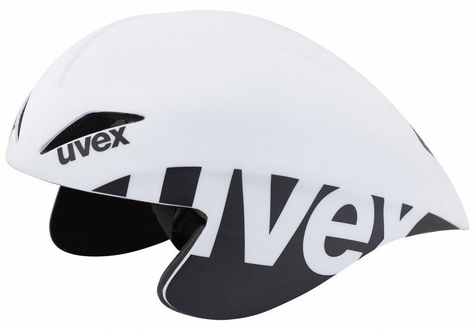 UVEX Fahrradhelm »race 2 pro Helm« in weiß