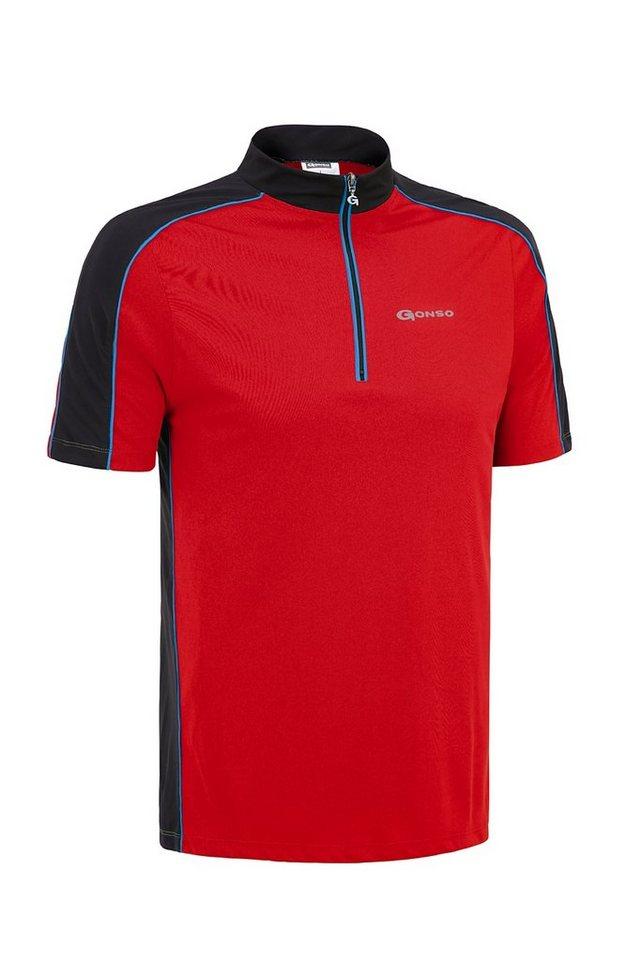 Gonso Radtrikot »Moro Bike-Shirt Herren« in rot