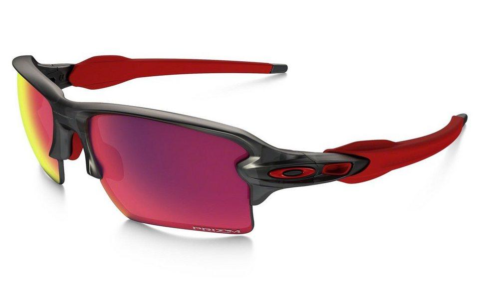 Oakley Radsportbrille »Prizm Road Flak 2.0 XL Brille« in grau
